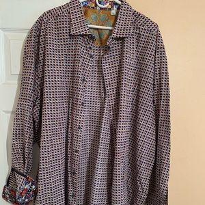 Robert Graham casual dress shirt